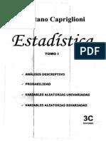 Estadistica 1 Capriglioni Tomo 1