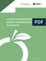 Linhas de Orientação Sobre Contaminantes de Alimentos