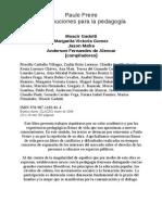 Paulo Freire, Contribuciones a La Pedagogia- Compilaciòn Clacso