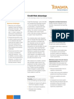 Credit Risk Advantage by SAS