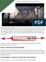 A Secret Sci-fi Film Shot in China • 沙尘暴 Starring Ai Weiwei by Jason Wishnow — Kickstarter