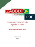 Comandos Remotos via Agente ZABBIX