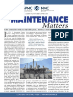 GPMC - Why Maintenance Matters 2014