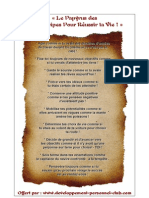 10 Principes Pour Reussir Ta Vie