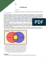 Epistemología WIKIPEDIA (Lectura)