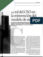 El Rol Del CEO La Reinvencion Del Modelo de Negocio HVR