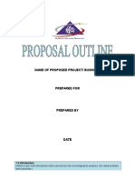 Template for Business Proposal