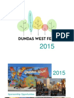 Dundas West Fest 2015 Sponsorship