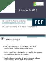 Aula 1 - Introdução GR e Protocolos