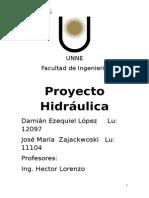 Proyecto Hidraulica