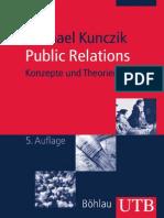 Michael Kunczik Public Relations