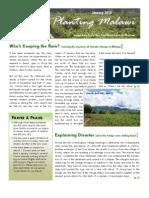 Planting Malawi newsletter January 2010