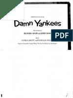 Damn Yankees Libretto