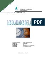 Monografía Niños de La Cárcel