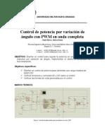 Pwm-potencia Onda Completa