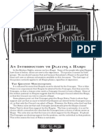 Chapter Eight - A Harpy's Primer