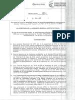 Resolución 0534 de la DAF-Ministerio de Hacienda