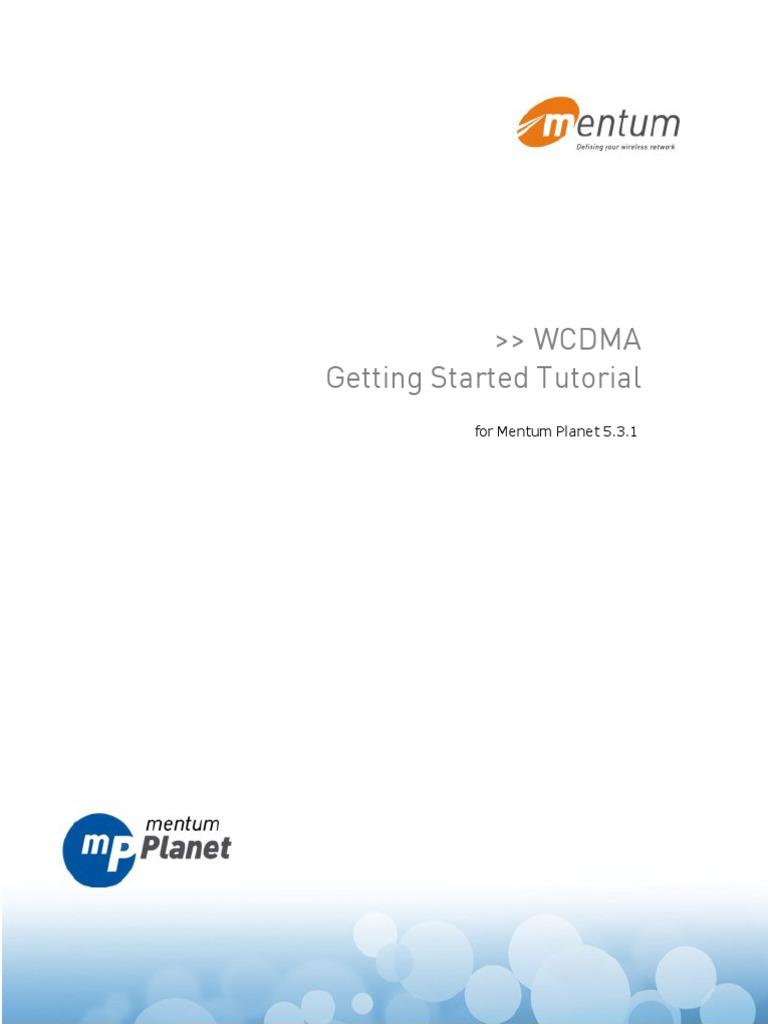 wcdma tutorial for mentum planet vs 5 3 1 dialog box computer file rh es scribd com