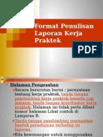 2012 Format Penulisan KP