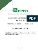 EPEC Cargar Pliego