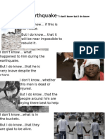Haiti Earthquake 1 by Kieran Buskey