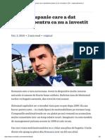 Prima Companie Care a Dat Faliment Pentru CA Nu a Investit in CSR — Www.wall-street