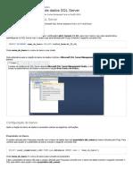 Configuração do banco de dados SQL Server - Fluig - TDN.pdf