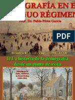 Demografía en El Antiguo Régimen