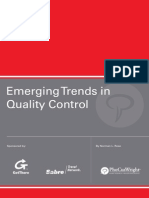 Trends in QualityControl