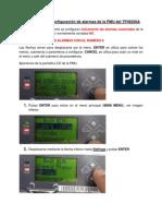 Configuracion Alarmas PMU_TP48200