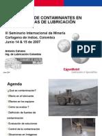 Presentación Contaminación III Seminario Mineria-Calvano