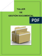 Taller Gestión Documental