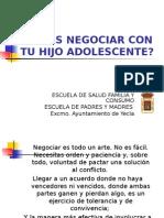 6 Sabes Negociar Con Tu Hijo Adolescente