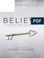 Believe, NIV (Second Edition) Sampler