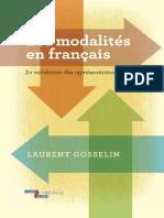 Les Modalit s en Fran Ais La Validation Des Repr Sentations