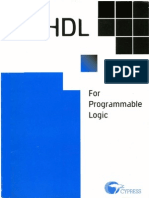 VHDL for Programmable Logic Aug95