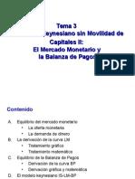 3. El modelo Keynesiano (II parte) IS-LM-BP.ppt