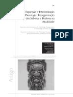 Expansão e Interiorização Da Psicologia