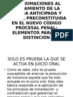 1.-APROXIMACIONES AL TRATAMIENTO DE LA PRUEBA ANTICIPADA Y.ppt