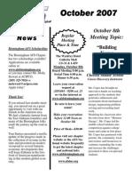 2007-10 October