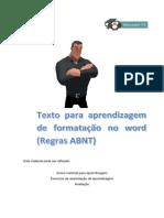 Texto Para Aprendizagem de Formatação No Word