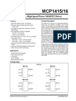 Mcp1416 Power Mosfet Driver