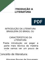 Introdução a Literatura
