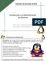 Tema 1. Introducción a La Administracion de Sistemas