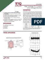 LTC4151 I2C Current and Voltage Monitor