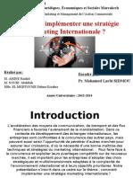 Comment Implémenter Une Stratégie Marketing Internationale