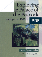 Joyce Sparer Adler, Irving Adler Exploring the Palace of the Peacock_ Essays on Wilson Harris 2003
