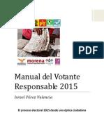 Manual del Votante Responsable 2015