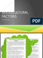 9 - sociocultural influences on performance