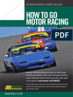 Brscc How to Go Racing Guide 2014